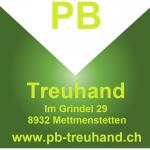 Logo PB-Treuhand mit Adresse und Mail